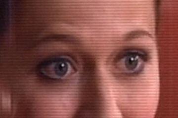 嘘をついているときの眉