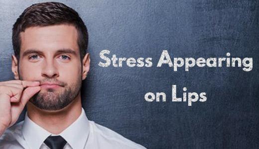 ストレスは唇の動きで読み取れる