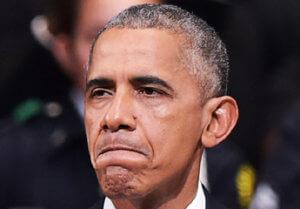 不満のオバマ氏