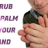 「手のひら」をこすり合わせるしぐさに隠れる真意